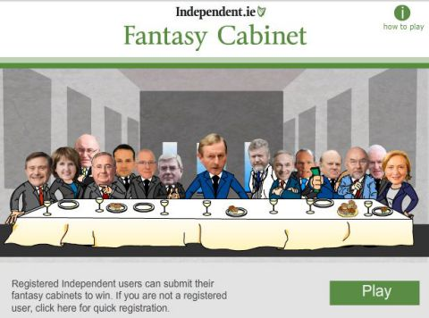 fantasy government game